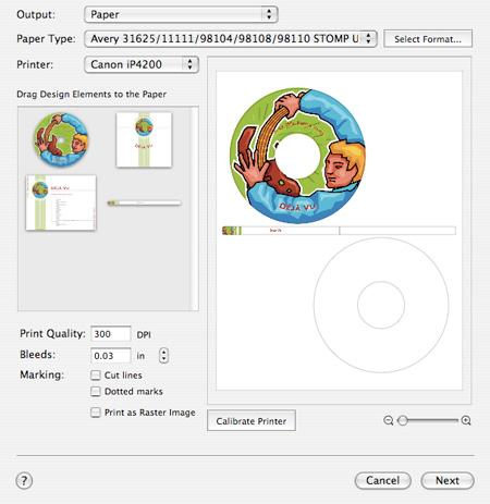 Printing disc labels with toast 8 titanium myroxio disc cover print options saigontimesfo